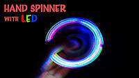 Спиннер Светящийся LED,  hand spinner антистресс, крутилка
