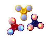 Спиннер со светодиодами LED Развивающая игрушка-антистресс Fidget spinner