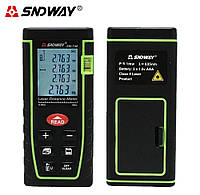 Лазерний далекомір SNDWay Sw-T40 (рулетка) до 40м, фото 1