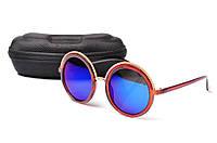Солнцезащитные очки Aedoll 5902 002 круглые женские (без чехла)