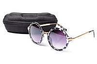 Солнцезащитные очки Aedoll 5906 001 круглые женские (без чехла)