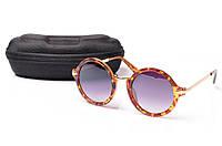 Солнцезащитные очки Aedoll 5906 005 круглые женские (без чехла)