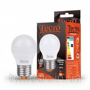 Светодиодная лампа TL-G45 4W E27 холодный