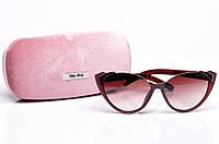 Солнцезащитные очки Miu Miu S8468-140-1 женские (без чехла)