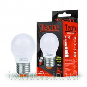 Светодиодная лампа TL-G45 6W E27 теплый