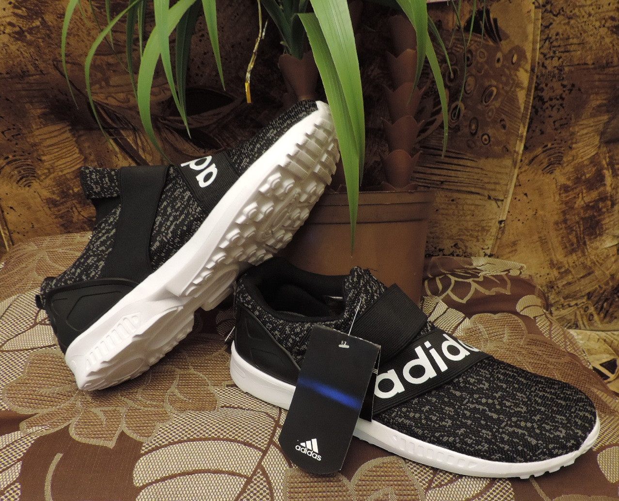 buy popular f4fd3 d6802 Кроссовки Adidas Originals ZX Flux Slip On (Wonex). Реплика