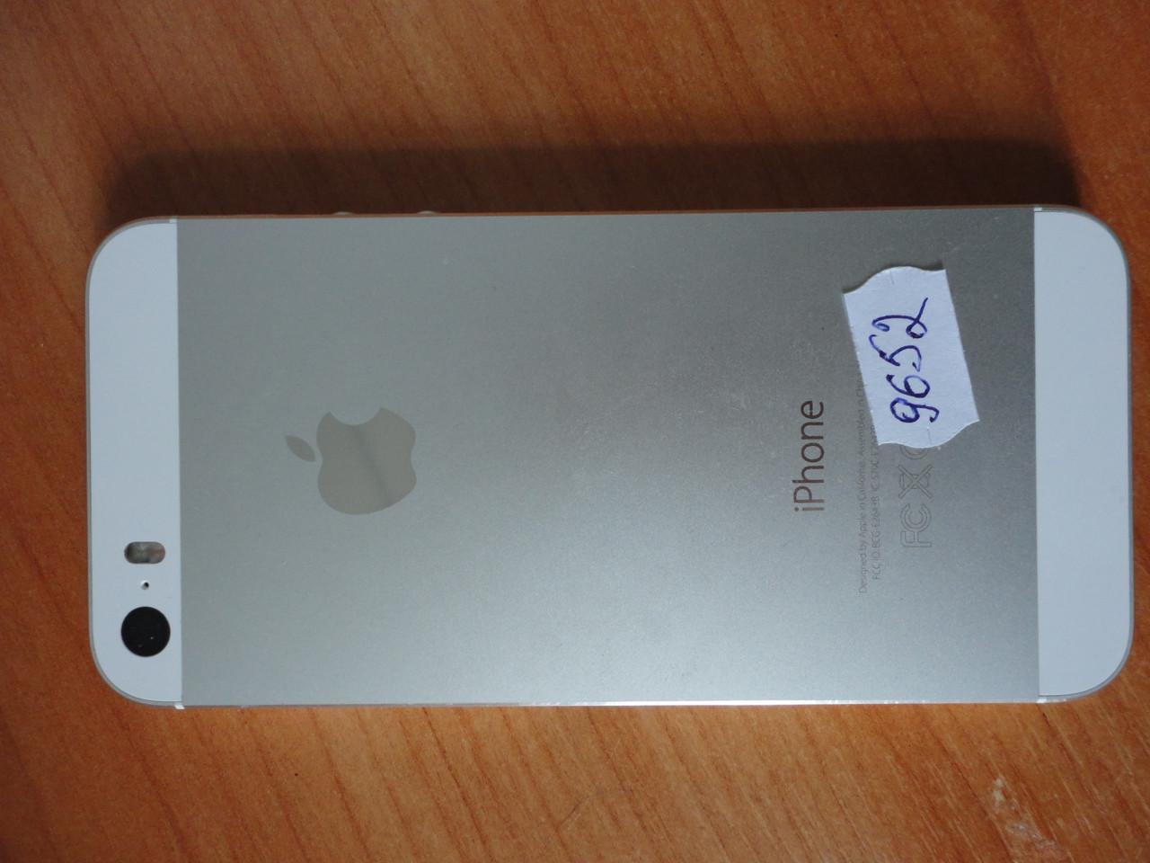 Корпус для iPhone 5s серебристый. Оригинал б/у
