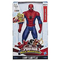 Большой, говорящий Человек-Паук 30 см, серия Титаны (Звук) -  Ultimate Spider-Man, Titans, Hasbro