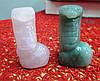 Змея (нефрит,  роз. кварц)—  символ мудрости и могущества от Студии LadyStyle.Biz