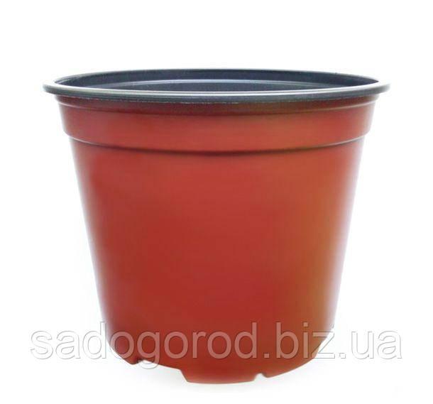 Горшок для рассады, d12 см, объем 0.69 л