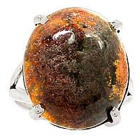 """Серебряное кольцо с лодолитом """"Морской"""" , размер 17.7  от студии LadyStyle.Biz, фото 1"""
