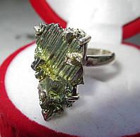 """Разноцветное колечко с золотистым  висмутом """"Парус"""",  размер 19.5   от студии LadyStyle.Biz, фото 1"""