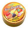 Леденцы (конфеты) Woogie Fine Drops (мелкие капли) микс фруктовый  Австрия 200г, фото 2