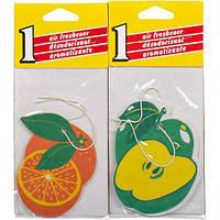 Освежитель воздуха бумажный, фрукты