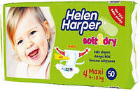 Подгузники Helen Harper Soft Dry maxi (9-18)50шт