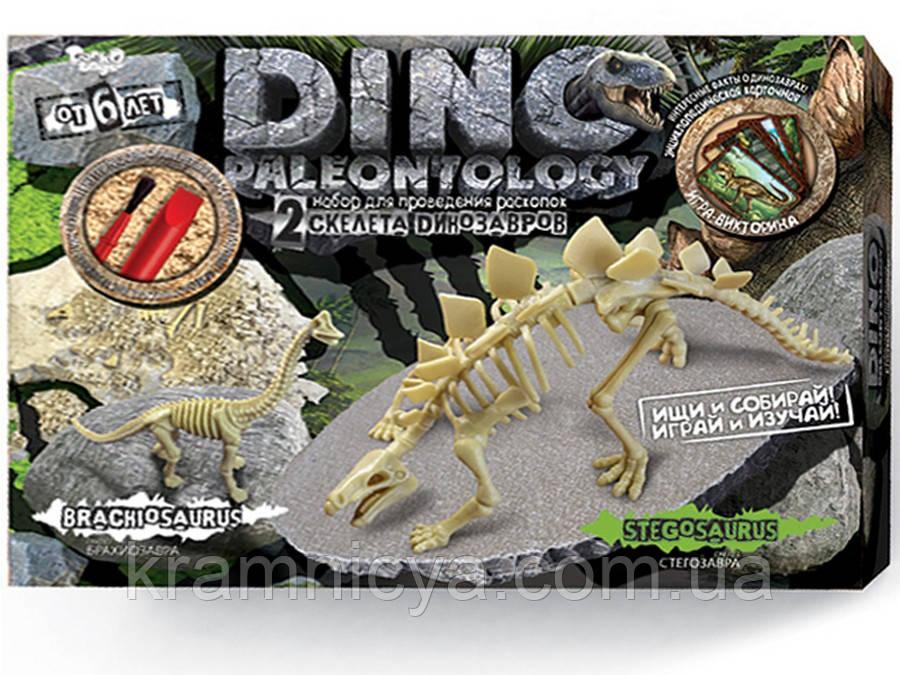 Раскопки динозавров DINO PALEONTOLOGY Стегозавр, Брахиозавр (DP-01-01)