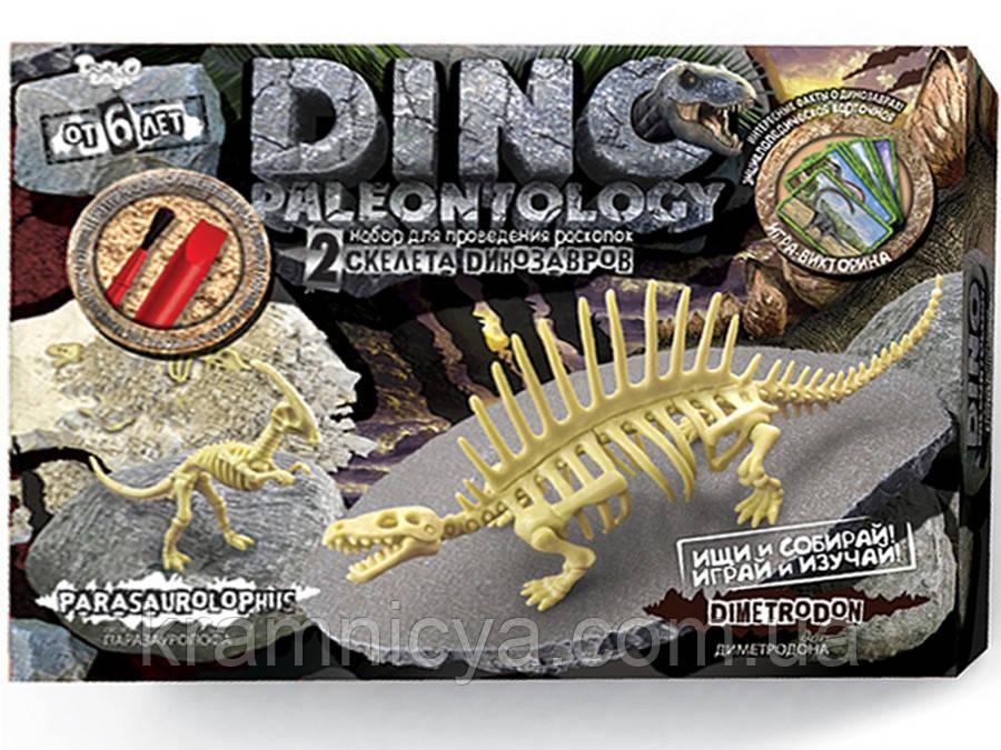 Раскопки динозавров DINO PALEONTOLOGY Диметродон, Паразауролоф  (DP-01-04)