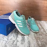 Женские кроссовки Adidas ZX Flux Mint