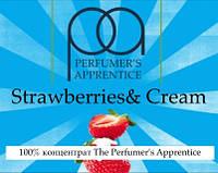 Ароматизаторы TPA/TFA/ТПА 10мл США The Perfumers Apprentice  Strawberries and Cream ( Клубника со сливками )