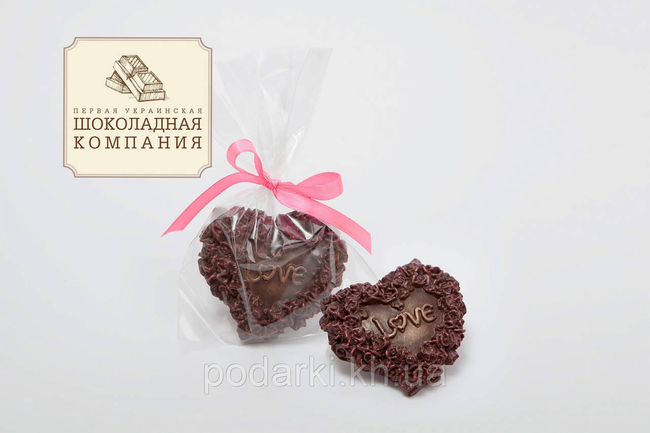 Вкусный подарок для гостей Сердце Love