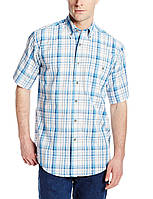 Рубашка Wrangler Men's Rugged Wear Blue Ridge Plaid Shirt