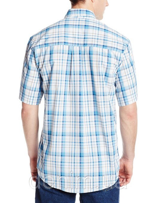 4d1e07185ad рубашка Wrangler Men s Rugged Wear Blue Ridge Plaid Shirt