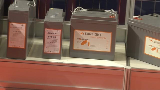 Гелевый Аккумулятор Sunlight spg12 — 100