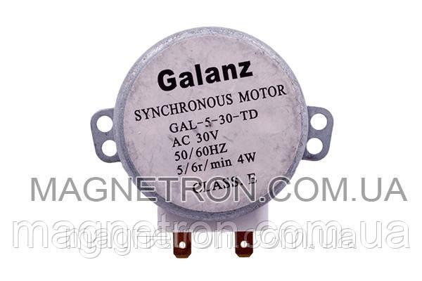 Двигатель поддона для микроволновой печи GAL-5-30-TD, фото 2
