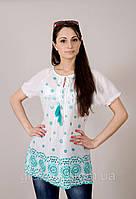 Легкая летняя блуза из хлопка