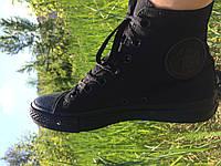 Кеды  All Star Black(черные высокие)
