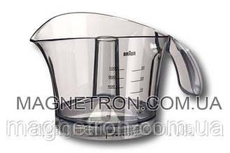 Чаша сбора сока 1000ml цитрус-пресса для соковыжималки Braun 81245015