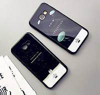 """Samsung A720F A7 2017 оригинальный противоударный чехол бампер с ПРИНТОМ РИСУНКОМ на телефон """"NTN"""""""
