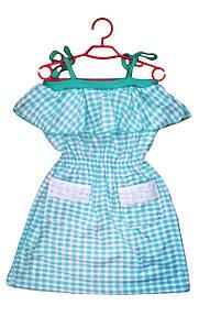 Платье на бретельках лето бирюза