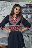 Красивий національний одяг і модний тренд - українська вишиванка.
