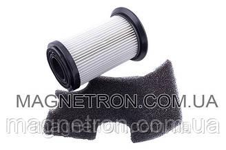 Набор фильтров ZF134 HEPA цилиндрический + выходной к пылесосу Zanussi 9001664656