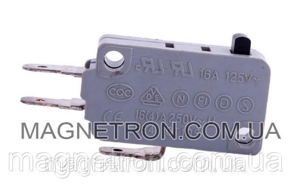 Микровыключатель FD-61 для микроволновой печи Samsung 3405-001032 (на 3 контакта), фото 2