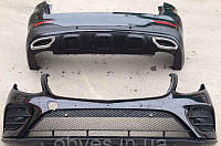 Комплект обвеса AMG на Mercedes GLC (X253) (2015-...), фото 1