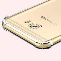 """Samsung A720F A7 2017 оригинальный противоударный чехол панель накладка бампер на телефон """"C ARM"""""""