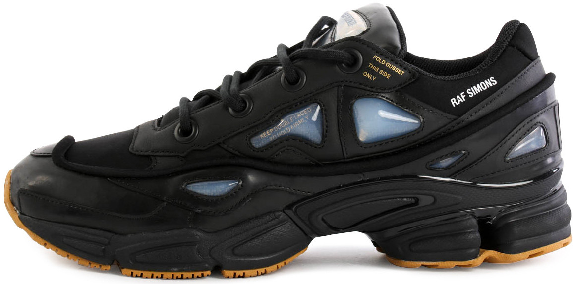 Мужские кроссовки Adidas Raf Simons Ozweego 2 Bunny Black - Интернет-магазин  обуви и одежды 40e56630f22