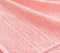 Полотенце махровое Туркменистан 50х90 средне-розовый