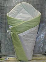 Летний конверт-одеяло на выписку, в коляску, кроватку.