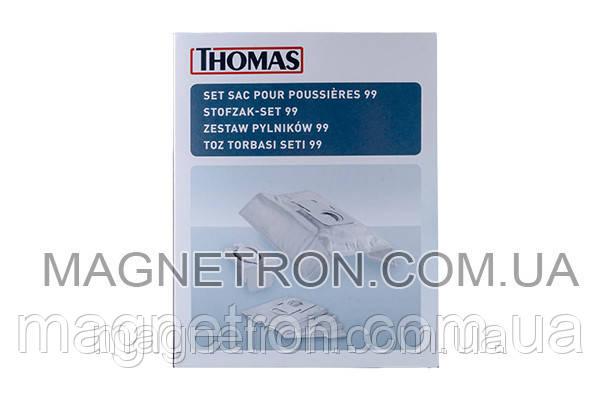 Набор мешков микроволокно (5шт) P99 + держатель для пылесоса Thomas XT/XS 787243
