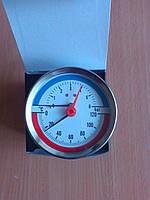 Термоманометр горизонтальный (боковой).