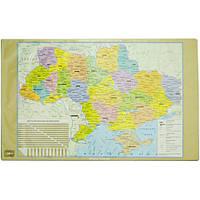 """Подложка для стола 470245""""Карта Украины"""", 60х36,5 см (Y)"""