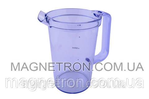 Чаша для сбора сока 1000ml насадки соковыжималки AT641 для кухонного комбайна Kenwood KW710667