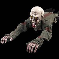 Декор для хэллоуина Ползущий Зомби