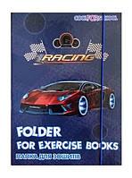 Папка для тетрадей Cool For School, В5, на резинках, ламинированный картон CF32006-02