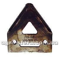 Сегмент жатки John Deere Procion нож Джон Дир Процион H207929, Н066.29, 420.100.085, H207930, H136807
