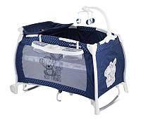"""Детская кровать-манеж I""""LOUNGE 2 LAYER ROCKER с укачиванием (пеленатор, мобиль, 124х64х77см) ТМ Lorelli (Bertoni) 4 вида"""