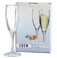 Бокалы для шампанского Эдем 2 шт. 170 мл
